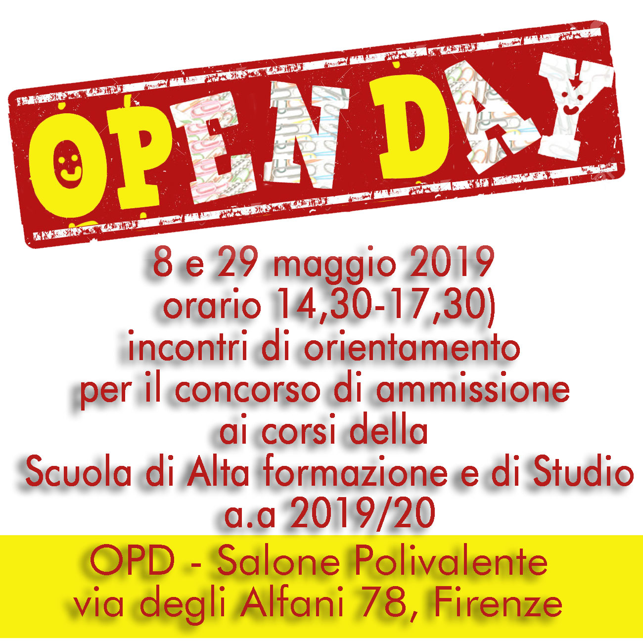 OPD 2019-20 open-day